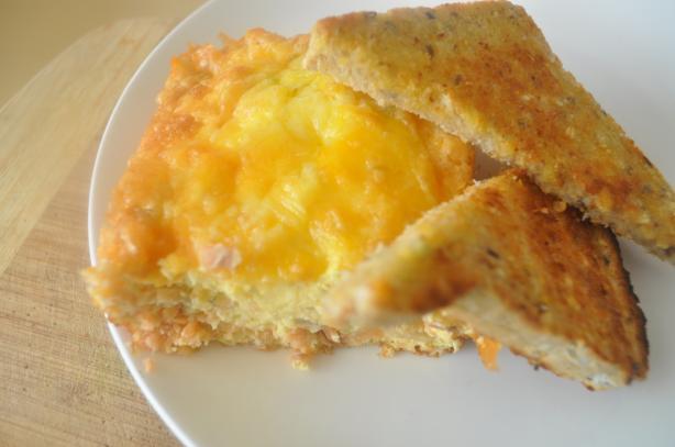 Smoked Salmon and Egg Bake