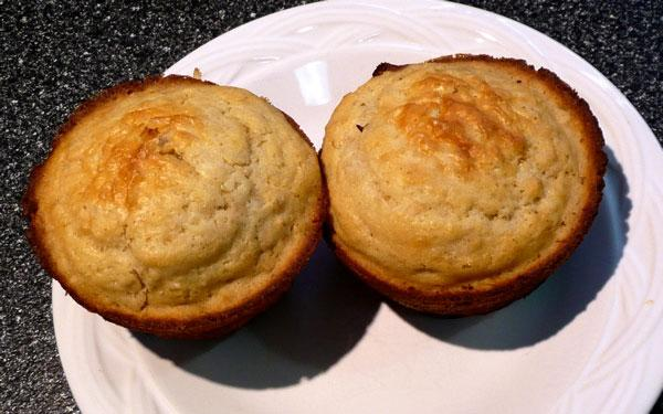 Honey-Wheat Muffins