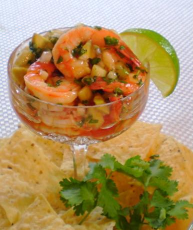 "Shrimp Ceviche ""cocktail"""