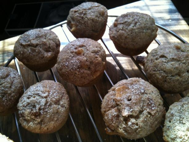 Vegan Apple Streusel Muffins