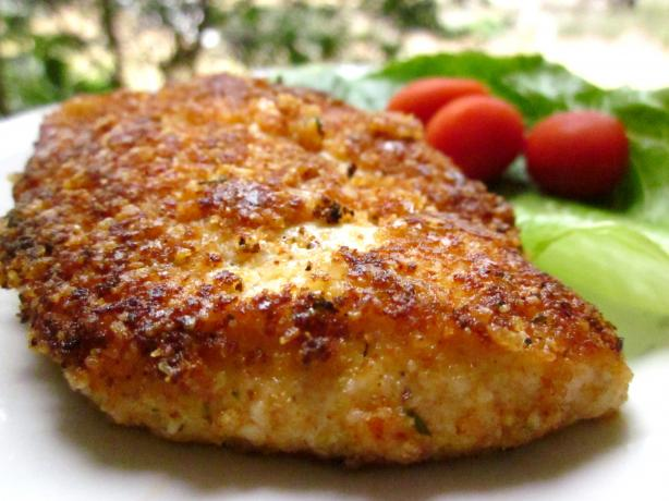 Nif's Quick and Tasty Parmesan Chicken