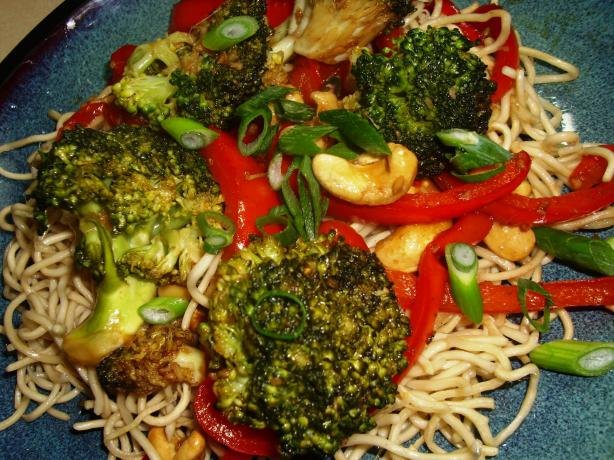 Sydney Broccoli, Red Pepper & Tofu Stir Fry With Balsamic Vi