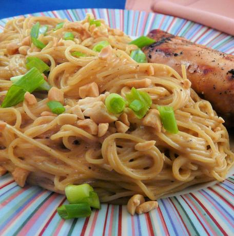Curry Peanut Noodles