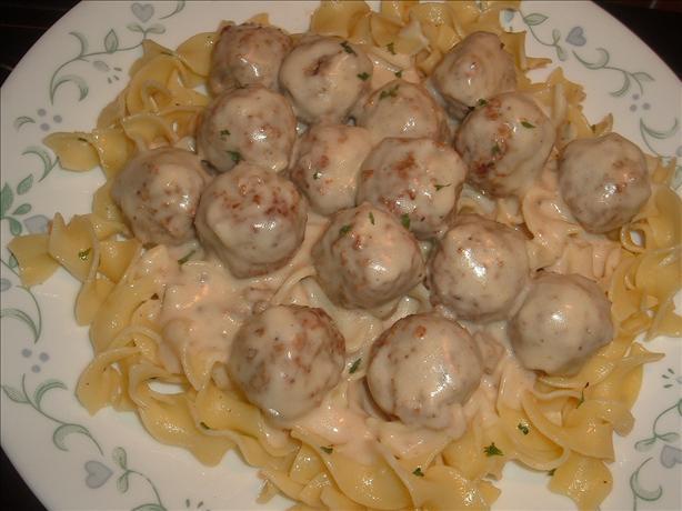 Easy Swedish Meatballs