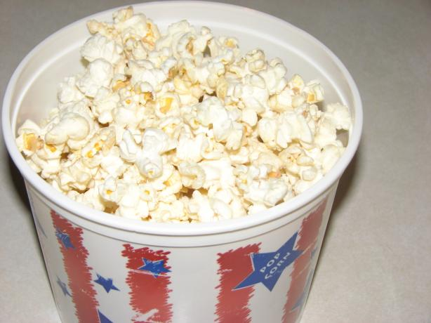 Ed's Homemade Microwave Buttery Popcorn