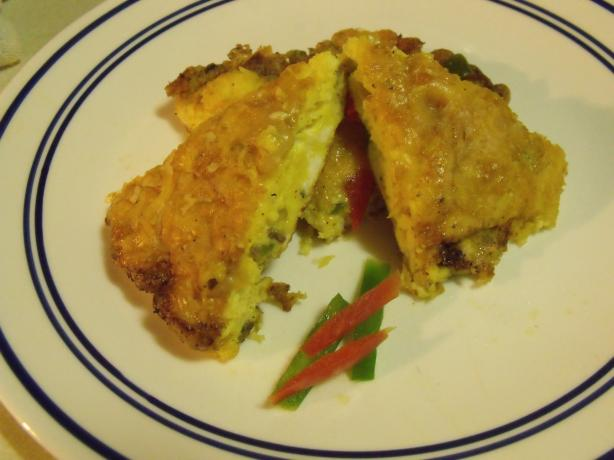 Turkey and Bell Pepper Frittata