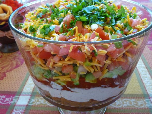 5-Layer Mexican Dip or Nachos Supreme