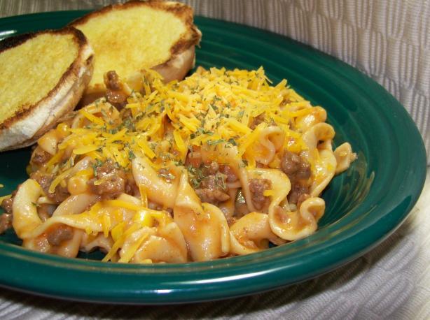 Hamburger - Noodle - Corn Casserole