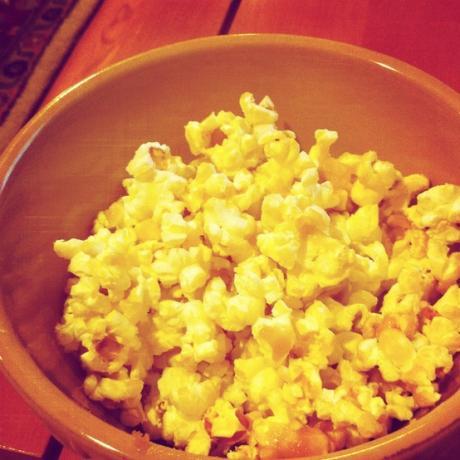 No-bake Caramel Popcorn