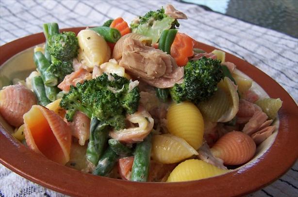 Tuna & Veggie Pasta Salad