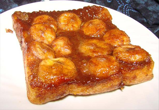 Baked Banana-Orange French Toast