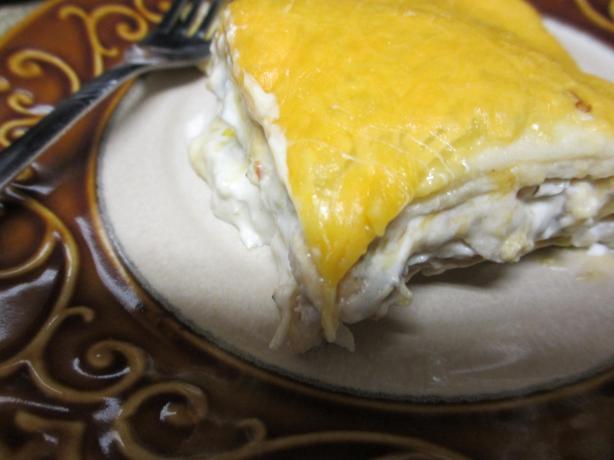 Creamy Chicken and Chile Casserole