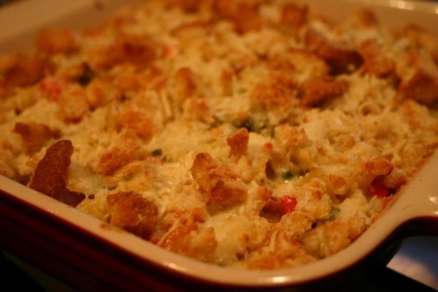 Chicken Caesar Pasta Casserole