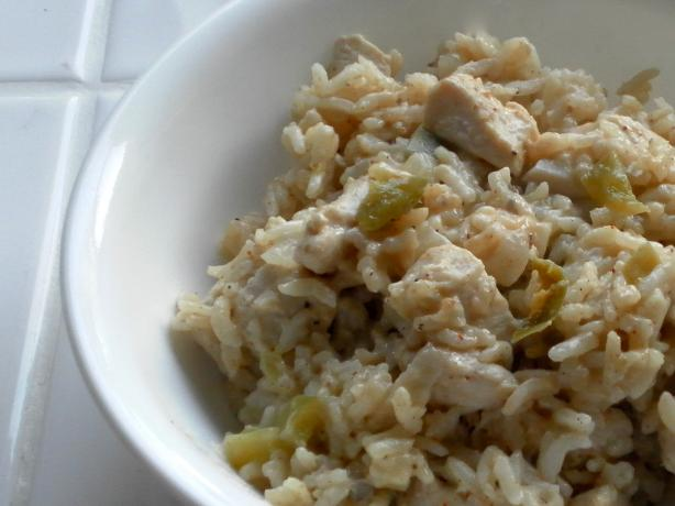 Full of Flavor Chicken and Rice Casserole