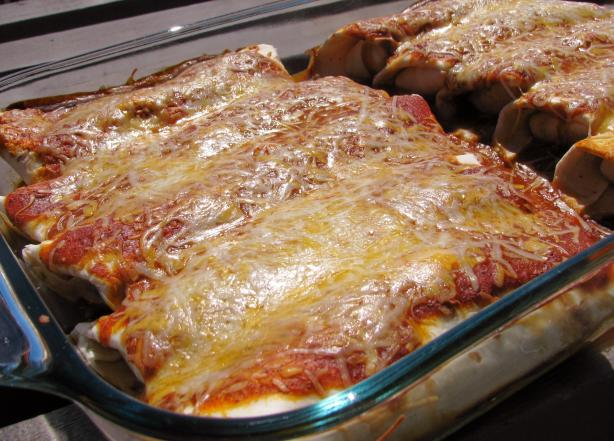 Ll's Favorite Chicken Enchiladas
