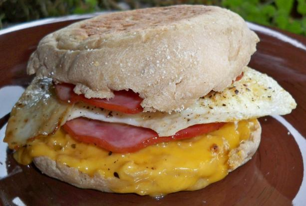 MockDonald Breakfast Sandwich