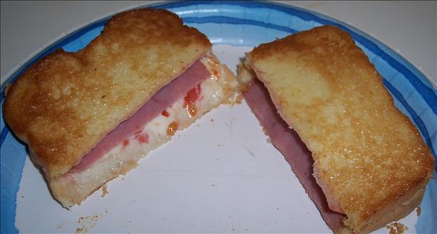 Ham & Swiss Oven Toasted Deli Sandwich
