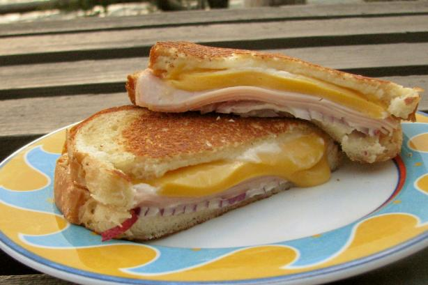 Hearty Grilled Cheese