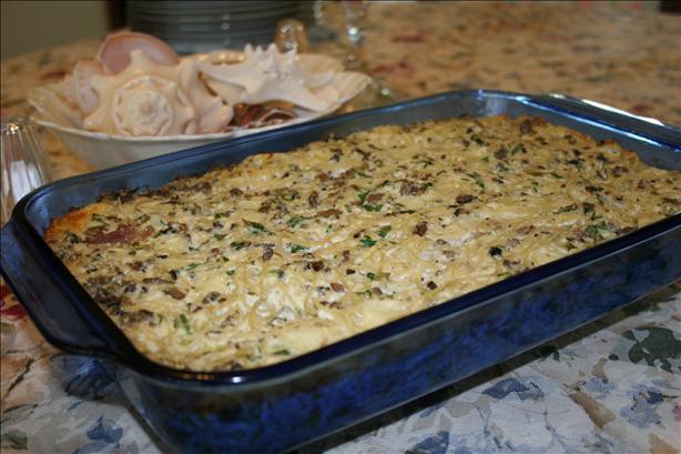 Nona's Italian Pasta Casserole