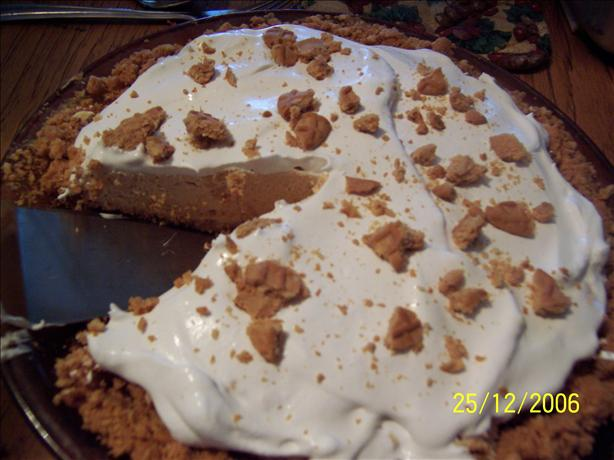 Nutter Butter Frozen Peanut Butter Pie