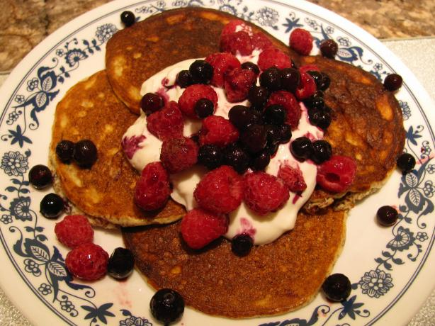 Helen's High-Protein Low-Carb Pancakes