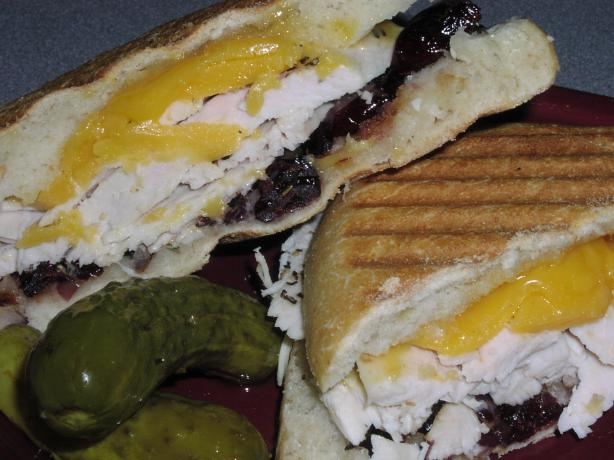 Roasted Turkey Panini