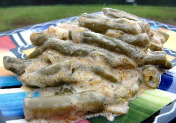 Green Beans in Sour Cream