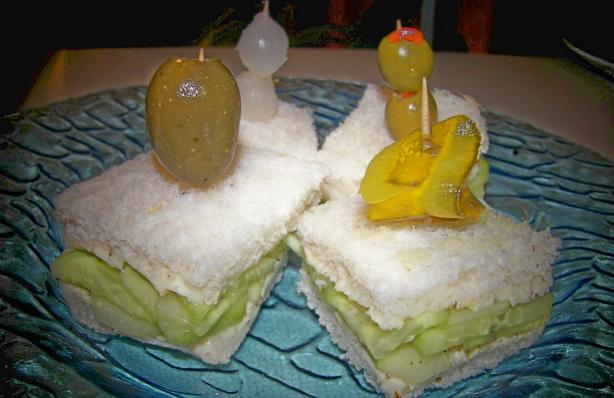 Cucumber Tea Sandwiches