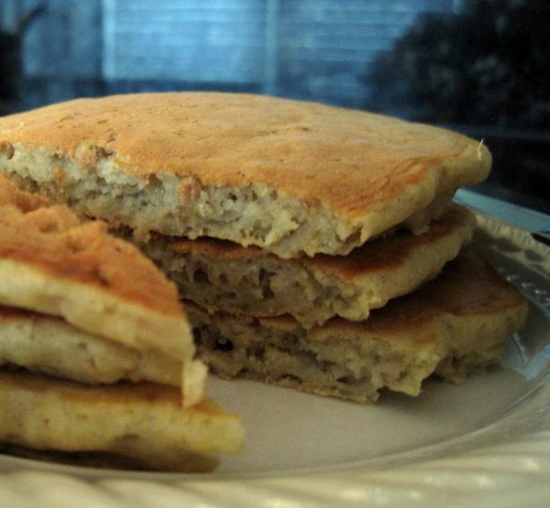 Rolled Oats Pancakes (Gluten Free)