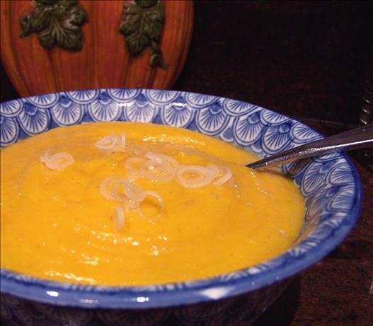 Sweet Potato and Lemongrass Soup