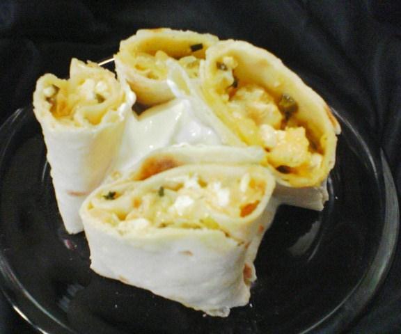 Bek's Creamy Chicken Quesadillas