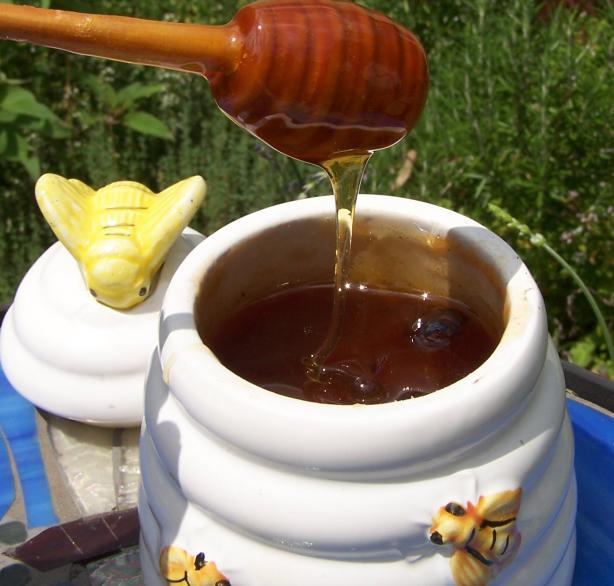 Homemade Lavender Honey
