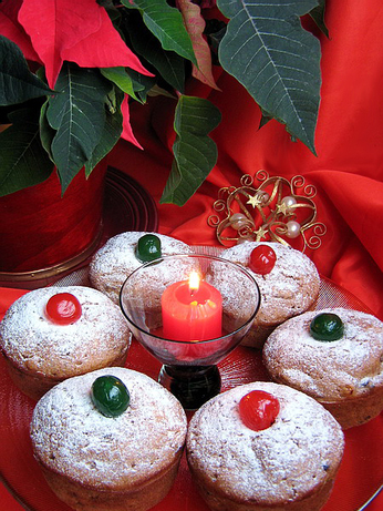 Christmas Morning Jewelled Muffin Mix in a Jar