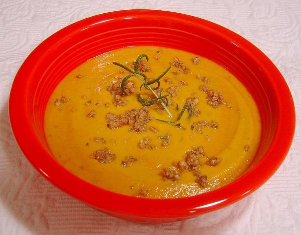 Rosemary Sweet Potato Soup