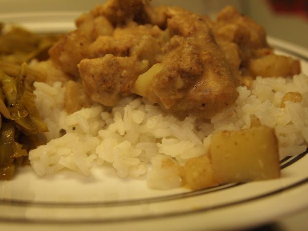 Samoan Chicken Kale Moa