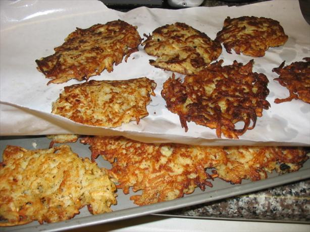 Celery Root and Potato Pancakes / Latkes - Gluten-Free