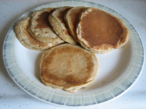 Vanilla Banana Pancakes
