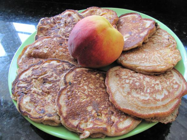 Betty Crocker Peach Pancakes