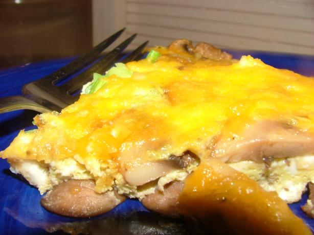 Mushroom Cheese Frittata