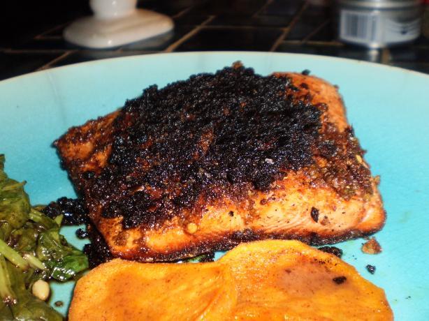 Blackened Indian Salmon