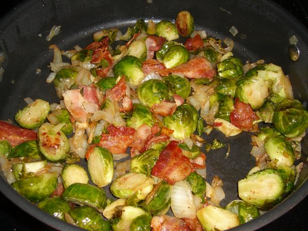 Emeril's Bacon Brussels Sprouts