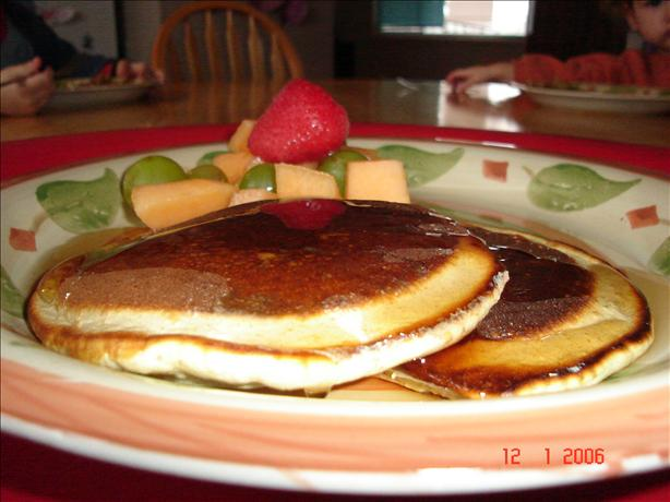 100% Whole Wheat Low Fat Pancakes