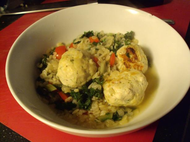 Italian Meatball and Escarole Soup