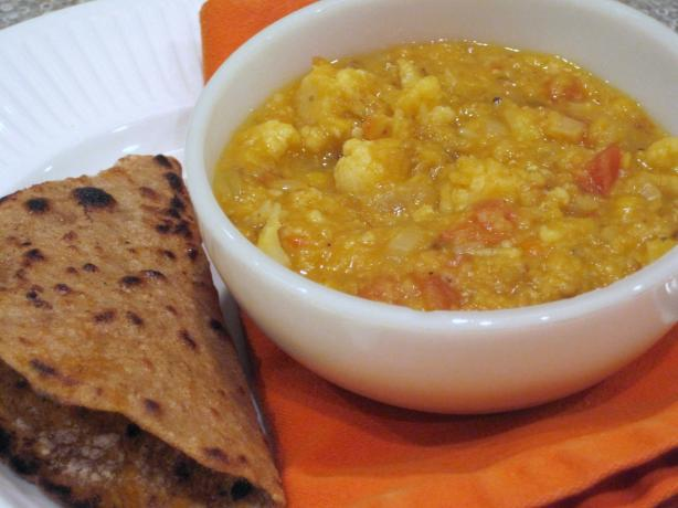Cauliflower Dal With Panch Phoron