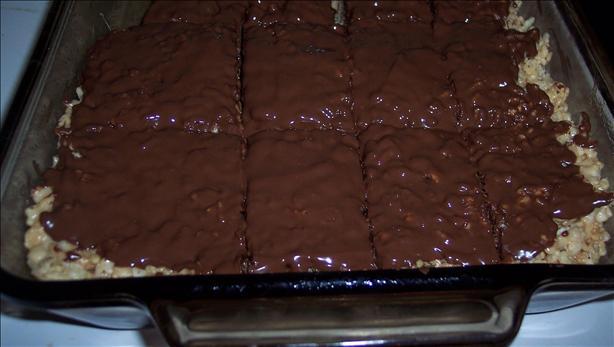Chocolate Rice Crispy Squares