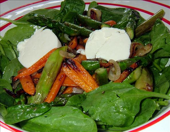 Asparagus and Goat Cheese Salad