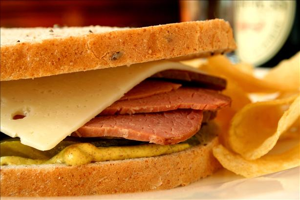 Easy Corned Beef for Deli Sandwiches