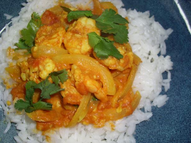 Indian Shrimp (Prawn) Curry