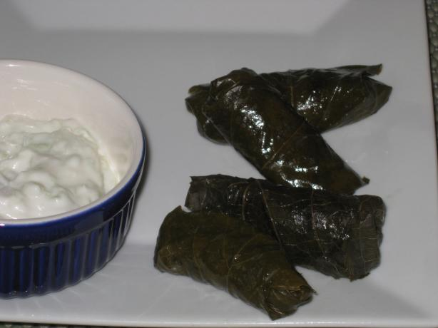 Dolmas-Grape Leaves Stuffed With Fragrant Rice