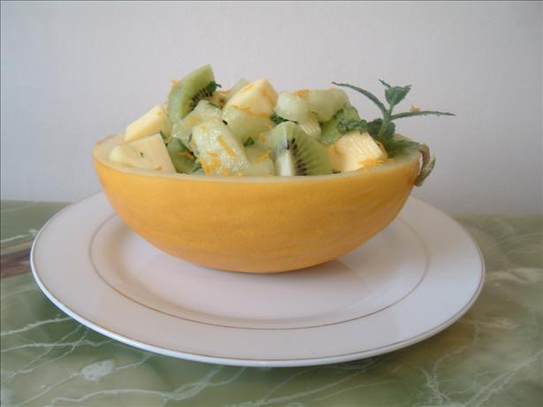 Fruit Salad With Citrus-Mint Dressing